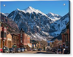 Downtown Telluride Acrylic Print
