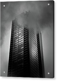 Downtown Toronto Fogfest No 24 Acrylic Print by Brian Carson