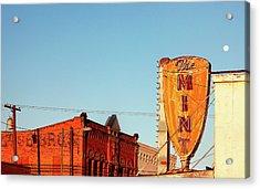 Downtown White Sulphur Springs Acrylic Print