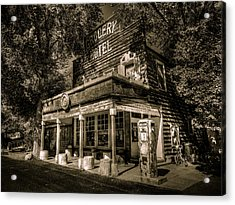 Doyle Grocery And Hotel Acrylic Print by Scott McGuire