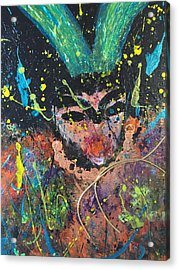 Dr. Death Acrylic Print by Annette McElhiney