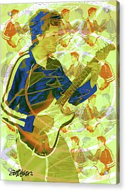 Dr. Guitar Acrylic Print by Seth Weaver