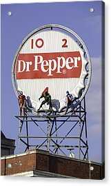 Dr Pepper And The Avengers Acrylic Print