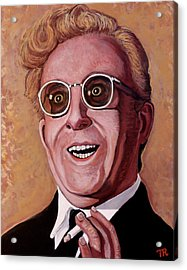 Acrylic Print featuring the painting Dr. Strangelove 3 by Tom Roderick