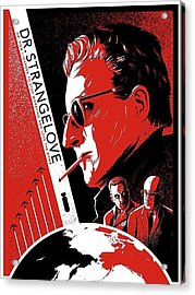 Dr. Strangelove Theatrical Poster Number Three 1964 Acrylic Print