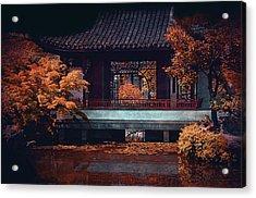 Dr. Sun Yat-sen Garden Acrylic Print by Maria Angelica Maira