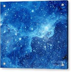 Dr22 In The Cygnus Region Of The Sky Acrylic Print by American School