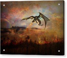 Dracarys Acrylic Print