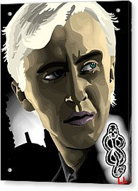 Draco Acrylic Print by Lisa Leeman