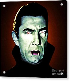 Acrylic Print featuring the photograph Dracula 20170414 Square by Wingsdomain Art and Photography