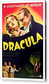 Dracula, Top From Left Helen Chandler Acrylic Print by Everett