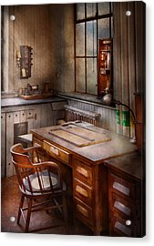 Drafting - Where Ideas Come From  Acrylic Print by Mike Savad
