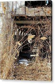Acrylic Print featuring the photograph Drafty Barn by Scott Kingery