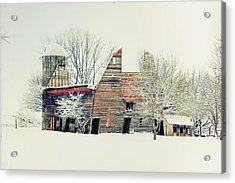 Drafty Old Barn Acrylic Print