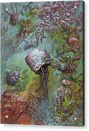 Drag Knot  Acrylic Print by Ethan Harris