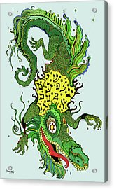 Draga-wan Acrylic Print