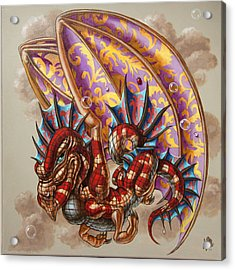 Dragon And A Ladybird Acrylic Print