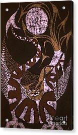 Dragon Breathing Arrows Acrylic Print by Carol Law Conklin