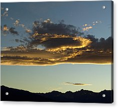 Dragon Cloud Acrylic Print by Alpha Pup