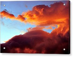 Dragon Cloud Acrylic Print