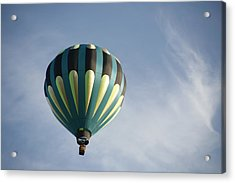 Acrylic Print featuring the digital art Dragon Cloud With Balloon by Gary Baird