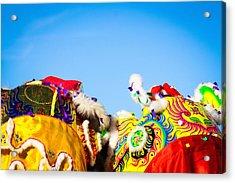 Acrylic Print featuring the photograph Dragon Dance by Bobby Villapando