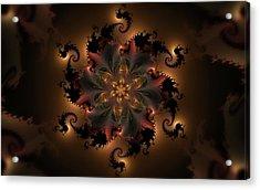Dragon Flower Acrylic Print
