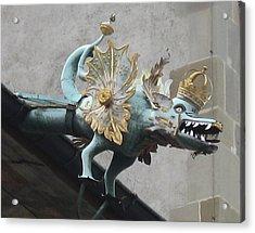 Dragon Acrylic Print by James Lukashenko