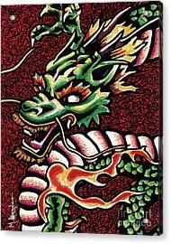 Dragon Acrylic Print by Maria Arango