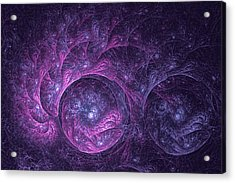 Dragon Nebula Reloaded Acrylic Print