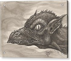 Dragon Portrait No. 2 Acrylic Print