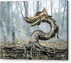 Dragon Root Acrylic Print