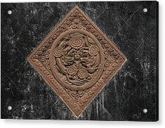 Dragon Seal Acrylic Print