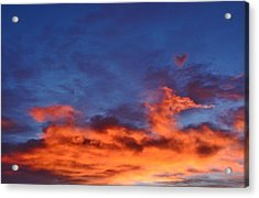 Acrylic Print featuring the photograph Dragon Sunrise by Diane Alexander