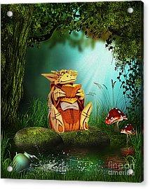 Dragon Tales Acrylic Print
