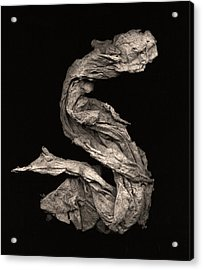 Dragon Wakes Up Acrylic Print by Peter Cutler