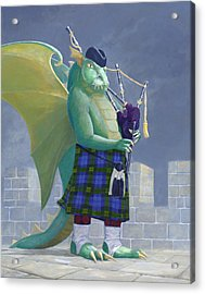 Dragon Watch Acrylic Print