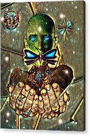 Dragonfly Empath Acrylic Print