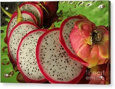 Acrylic Print featuring the photograph Dragonfruit  by Christine Amstutz