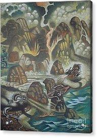Dragon's Breath Acrylic Print