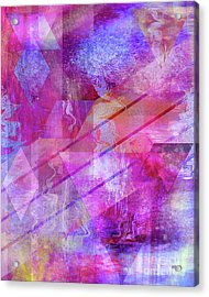 Dragon's Kiss Acrylic Print by John Beck