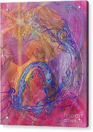 Dragon's Tale Acrylic Print by John Beck