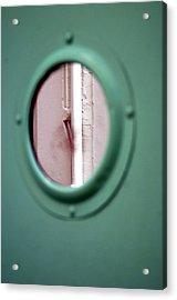 Drained Door Acrylic Print by Jez C Self