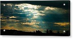 Drakensberg Evening Acrylic Print by Joe Houghton