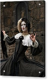 Drama In The Gothic Quarter Acrylic Print by Jason Hochman