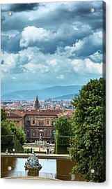 Drama In The Palace Of Firenze Acrylic Print