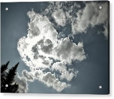 Drama In The Sky Acrylic Print by Karen Stahlros