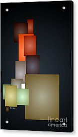 Dramatic Abstract Acrylic Print