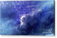 Dramatic Cumulus Sky Acrylic Print