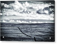 Acrylic Print featuring the photograph Dramatic Landscape  by RKAB Works